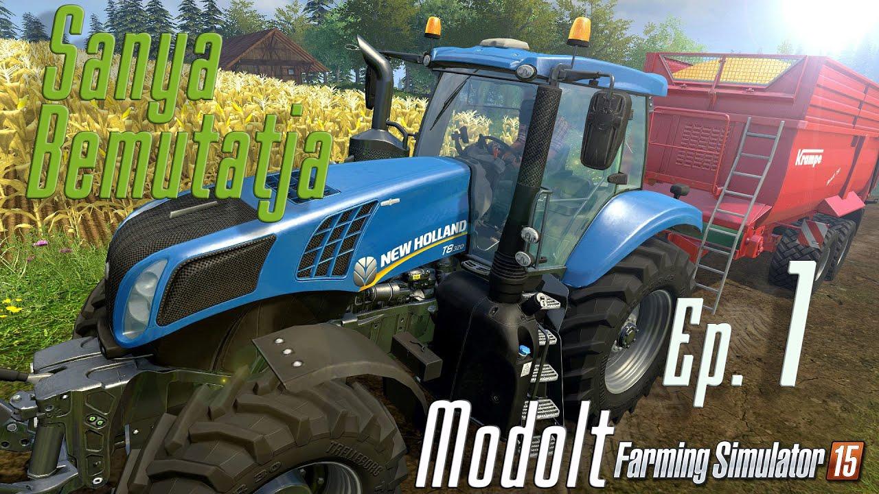 Download Farming Simulator 15 Modokkal [ 1. rész ] Magyar pálya körbejárása, gépek bemutatása