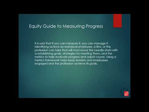 AIA New Jersey Equity Committee Presents The Architect's Equity Guide to Measuring Progress
