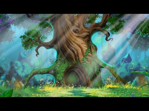 Morning Meditation Music for Positive Energy Boost - Nature Forest Sounds + Santoor || Indian Music
