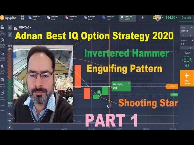 Adnan Inverted Hammer Strategy  -  Best Binary Option Strategy 2020