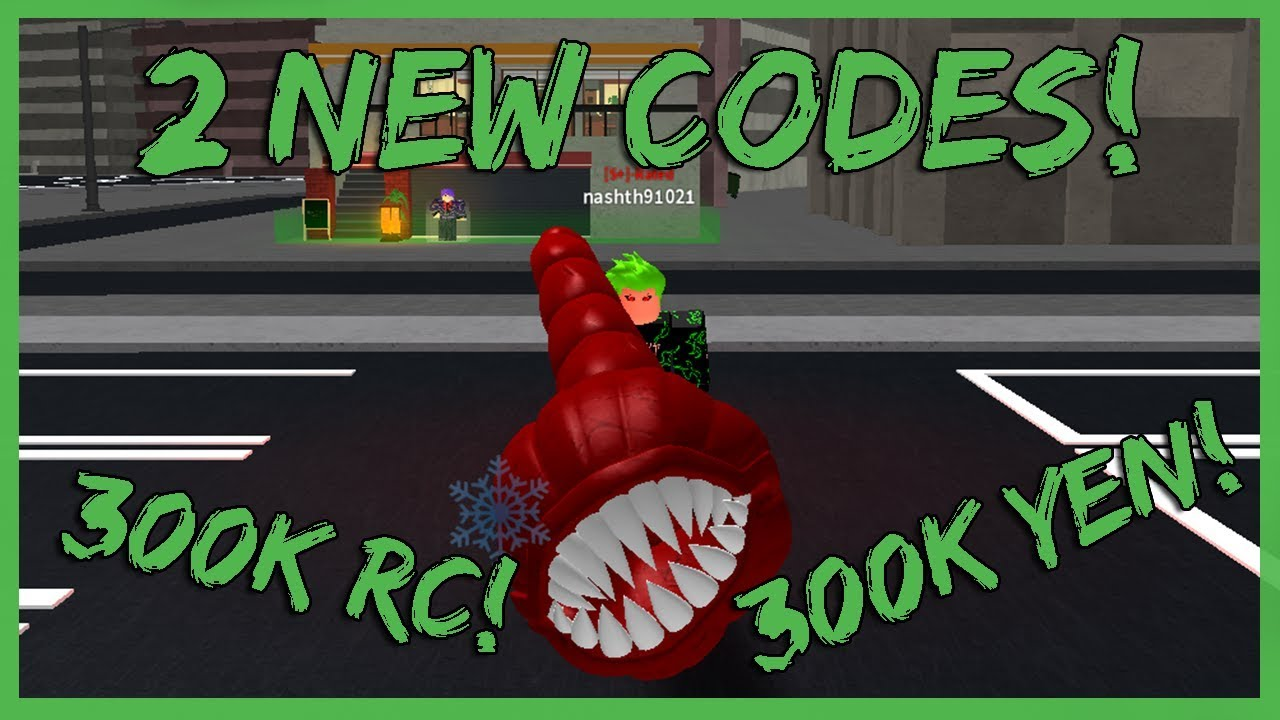 Ro Ghoul 2 New Codes That Give 300k Rc Yen Youtube
