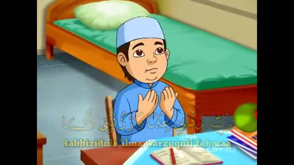 Hasil gambar untuk gambar orang berdoa sebelum belajar