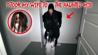 I TOOK MY WIFE TO THE HAUNTED ANNABELLE MILL AND THIS IS WHAT HAPPENED TO HER!! | MOE SARGI