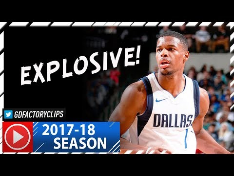 Dennis Smith Jr. Full Highlights vs Grizzlies (2017.10.25) - 19 Pts, SICK PLAYS!