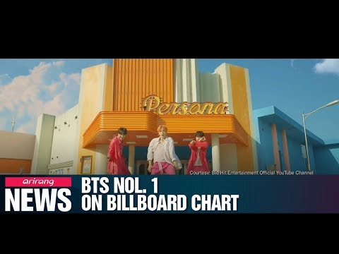 BTS seal third No.1 on Billboard album chart with 'Map of Soul: Persona' Mp3