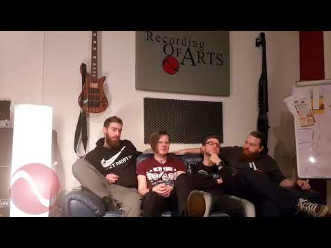 Recording of Arts TV - Interview mit Rise in Chains