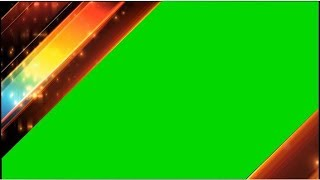 Creative Video Transition Effects | Promo Sting Montage Video Frame Green Screen | DMX HD BG 311