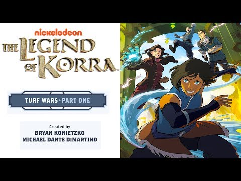 Korra - Turf Wars: Part 1 (FULL COMIC) (Motion Comic) (1080p/60FPS)