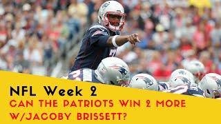 Can the Patriots Win 2 More Games w/Brissett?