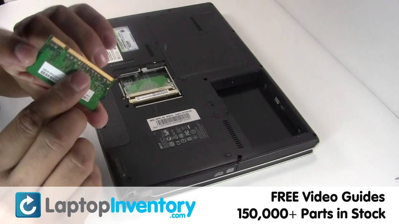Acer Aspire Ram Memory Replacement Install Fix Replace