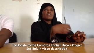 Comoros English Books Project