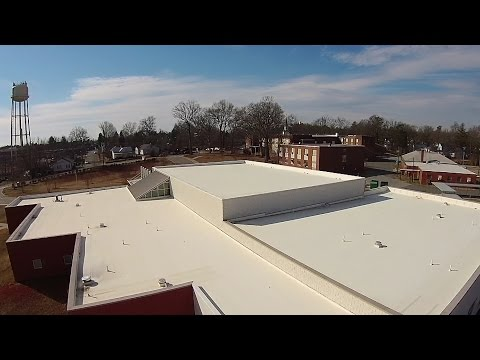 Blade 350 QX3 AP - Gibsonville Elementary Schools: The Old & The New