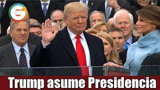 Trump asume la Presidencia de EU