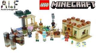 Axe Lego Minecraft Illager Figure From Set 21160