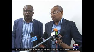 CAF President Visit - AM Sports on JoyNews (22-9-17)