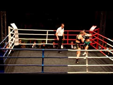 Championnat d'Europe Myriam Dellal Vs Nicole Boss 20/12/2014