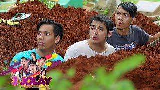 Nah Loh! 3 Jolay Ketahuan Hani, Susan, May Jadi Tukang Gali Kubur - 3 Jolay Episode 6