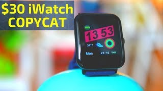 An iWatch copy: Oukitel W2 Smart Band is CHEAP and GOOD