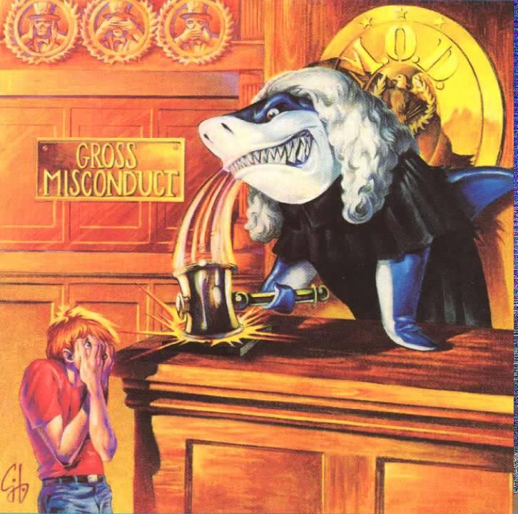 Download M.O.D. - Gross Misconduct [Full Album] 1989