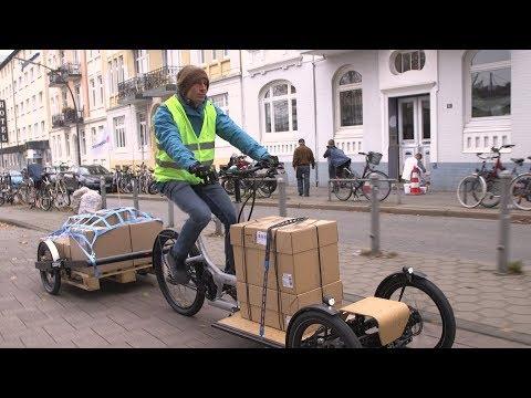 DB Schenker – Redefining Urban Logistics With E-cargo Bikes