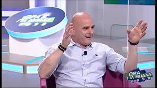 Ο Τιμούρ Κετσπάγια στην αθλητική εκπομπή «Ώρα για Mπάλα» της Cytavision