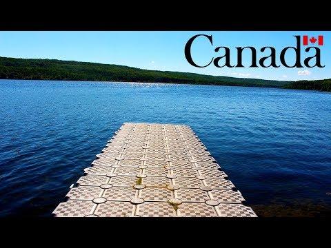 CAMPING IN LONG LAKE ALBERTA CANADA - DAY 1
