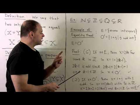 BM5.  Naive Set Theory