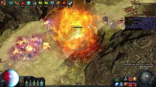 Path of Exile: 2 minute Gorge Run - Vaal Righteous Fire build