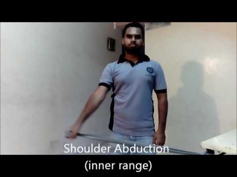 Exercise for Shoulder dislocation
