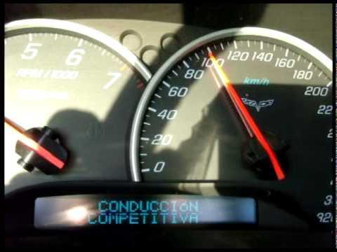 Corvette C6 Z06  aceleracion