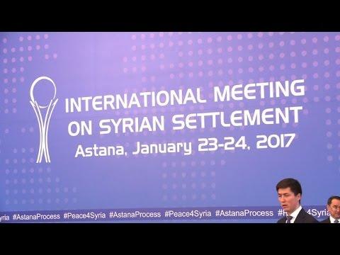 Syrie: ouverture des pourparlers de paix à Astana