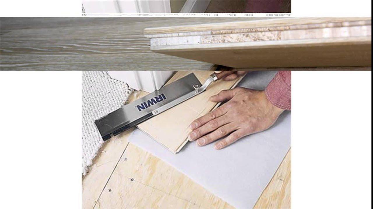 Floating Engineered Wood Flooring