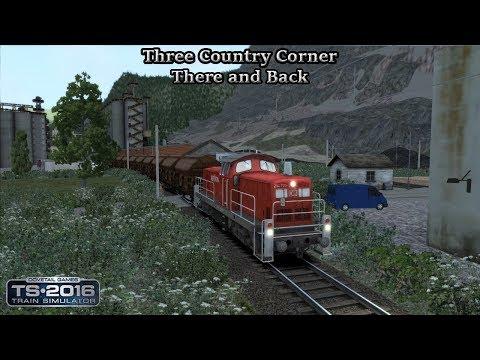 Train Simulator 2016 - Standard Scenario - Three Country Corner - There and Back Part 1 |