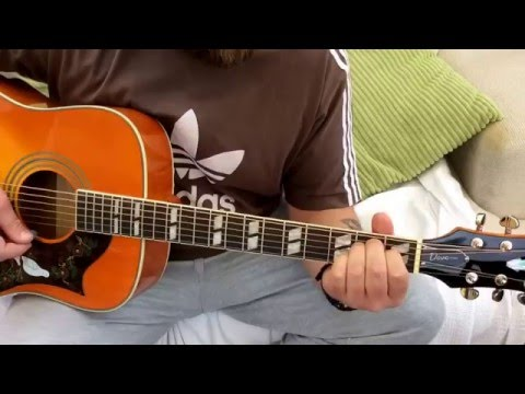 The Verve-Bittersweet Symphony-Acoustic Guitar Lesson.