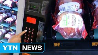 자판기에서 뽑아먹는 신선한 과일 / YTN