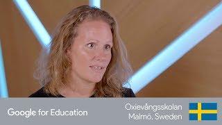 Jenny Nyberg, Oxievångsskolan in Malmö, Sweden