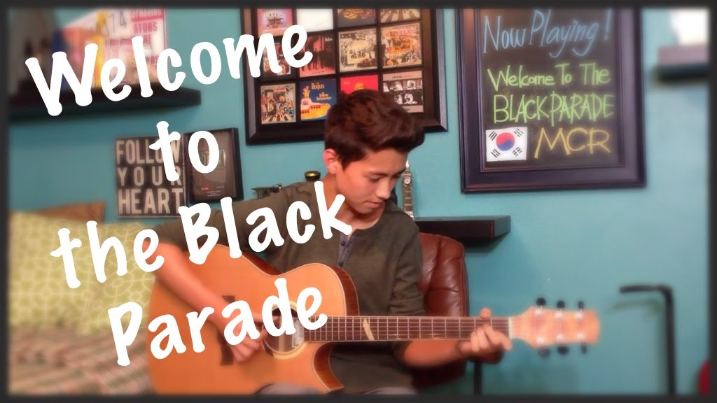 Welcome To The Black Parade My Chemical Romance Fingerstyle