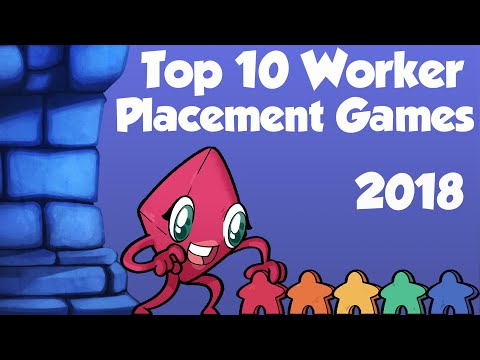Top 10 Worker Placement Games