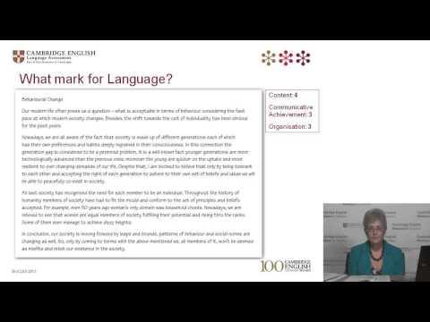 Cambridge English: Proficiency -- Teaching Tips for Writing