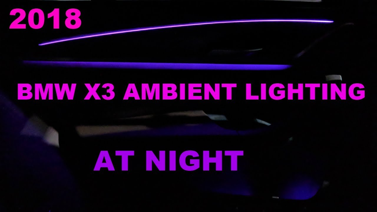 2008 bmw x3 interior light [ 1280 x 720 Pixel ]