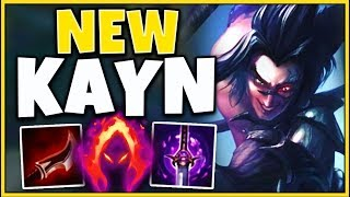 *SEASON 10 KAYN* HOW TO WIN EVERY GAME IN SEASON 10 (NEW BUILD) - League of Legends