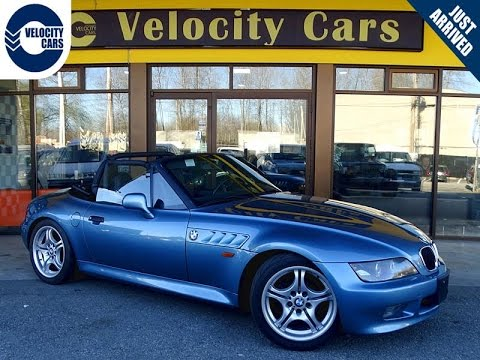 1997 Bmw Z3 Roadster Convertible 48k S Leather Manual