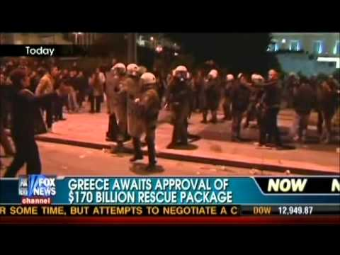 Greece in Chaos - Its Where We Are Headed Under Obama
