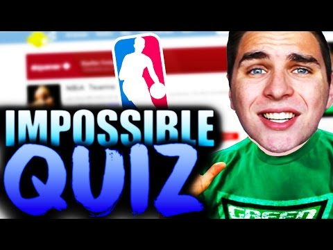 THE MOST FRUSTRATING IMPOSSIBLE QUIZ! DOES JAY KNOW THE NBA TEAMS?