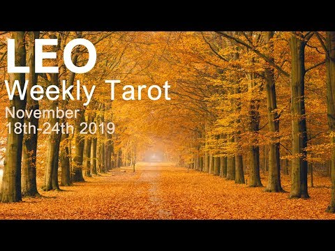 LEO WEEKLY TAROT READING