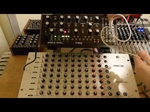 Vermona DRM1 MK3 & Moog Mother 32