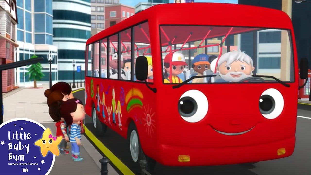 Wheels On The Bus - Babies Songs | Best Baby Songs | Kids Cartoon | Nursery Rhymes | Little Baby Bum