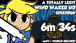 A TOTALLY legit Wind Waker Speedrun (WORLD RECORD)