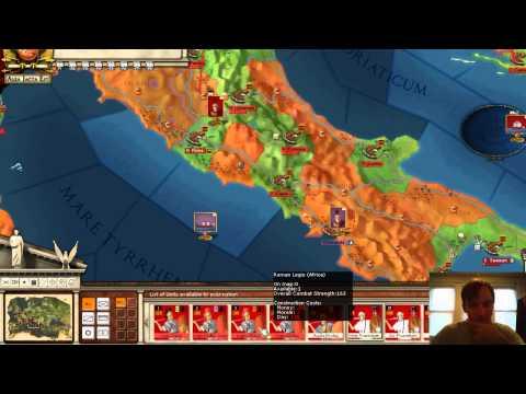 Alea Jacta Est - Tutorial 27 - Move an Army from Harbor to Harbor  