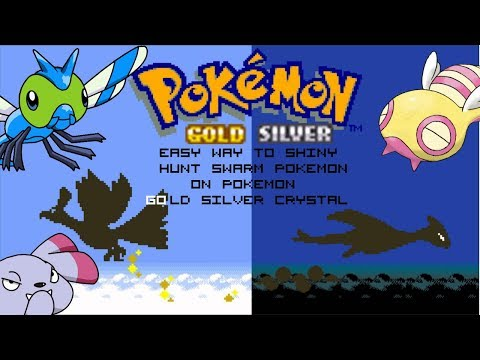 Easy Way To Shiny Hunt Swarm Pokemon On Gold/Silver/Crystal